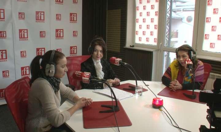 Invitatele emisiunii Tanr in Europa in studioul RFI Romania