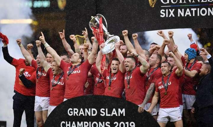Țara Galilor - câștigătoarea Marelui Șlem 2019
