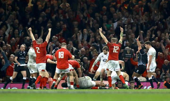 Țara Galilor 21 Anglia 13