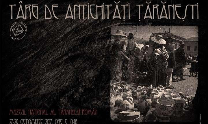 Afiș Târg de Antichități Țărănești