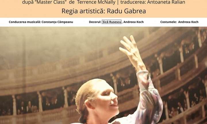 Afiș Spectacol Maria Callas – La Divina, Teatrul Nottara 2017
