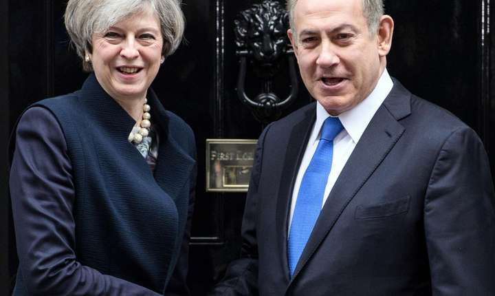 Binyiamin Netanyahu și Theresa May