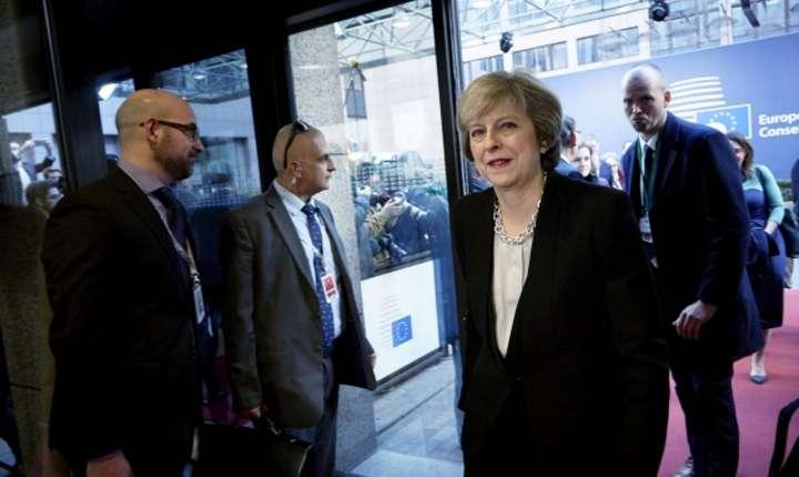 Theresa May la summitul UE din 15 décembre 2016