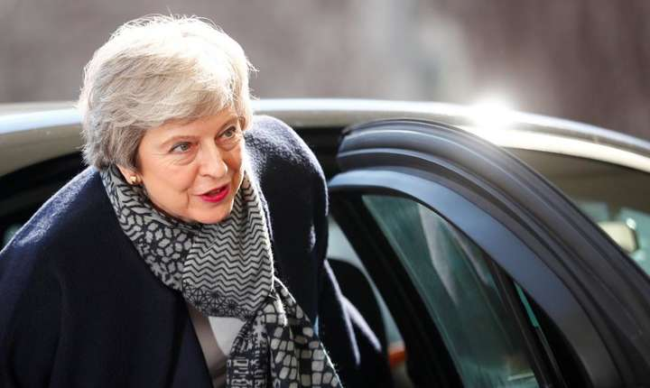Theresa May demisionează (Foto: Reuters/Hannibal Hanschke)