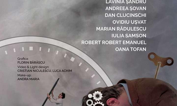 Spectacolul TimeAholics de Bogdan Capșa, regia Anca Ciuclaru, Teatrul Excelsior, 2017