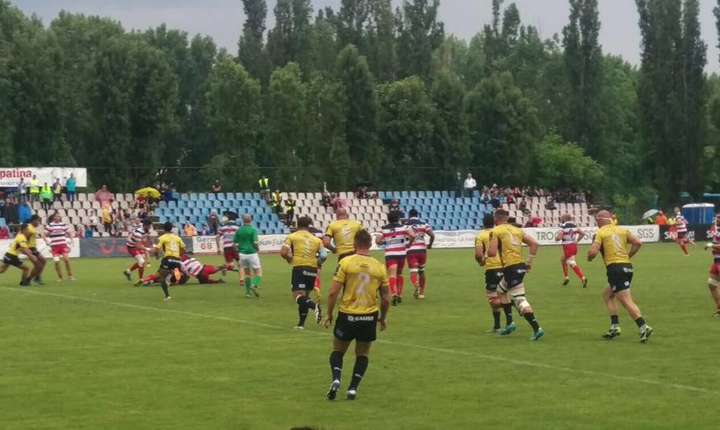 Steaua 5 Timișoara Saracens 12