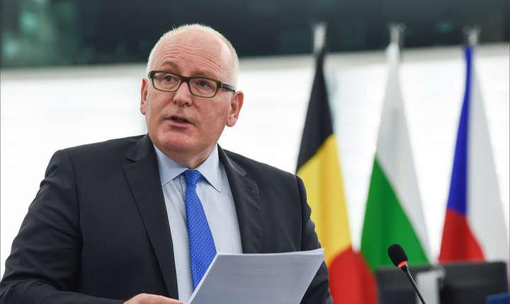 Timmermans a luat poziţie de multe ori împotriva modificărilor la legile justiţiei din România