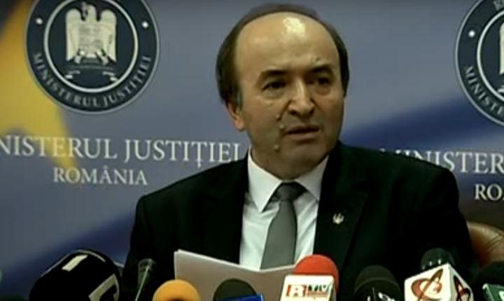 Ministrul Justiţiei, Tudorel Toader, a anunțat finalizarea proiectului de lege pentru modificarea Codulurilor penal şi de procedură penală