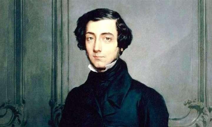 Alexis de Tocqueville într-o pictura de Théodore Chassériau