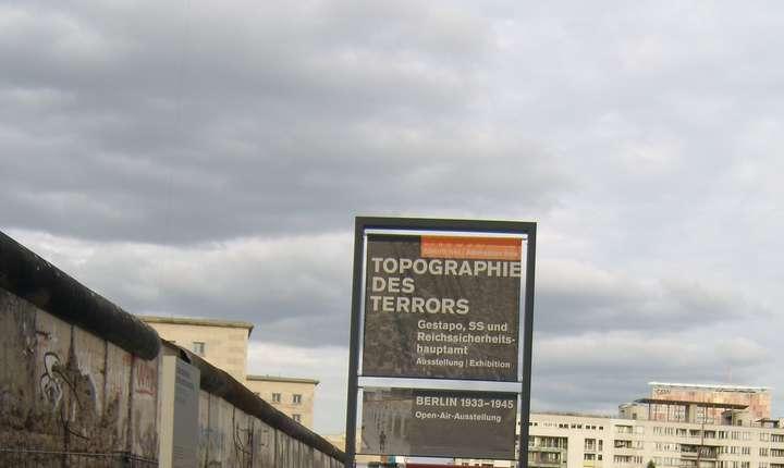"""Centrul de documentare, """"Topografia terorii""""."""