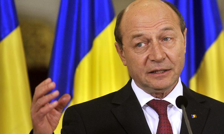 Fostul preşedinte Traian Băsescu