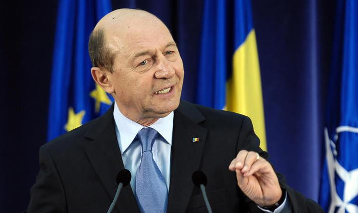 Fostul preşedinte Traian Băsescu (Foto: arhivă presidency.ro)