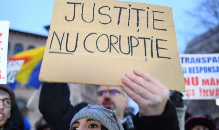 La o recentà manifestatie din Bucuresti, 22 ianuarie 2017