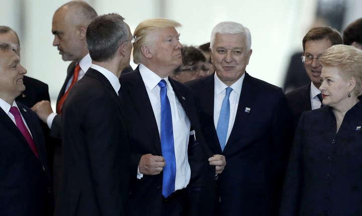 Prima vizită a lui Trump în Europa a scos la iveală o mare neîncredere transatlantică