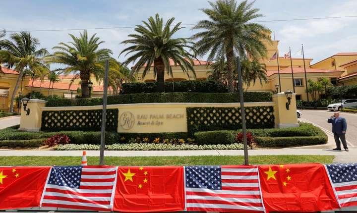 La Palm Beach, în Florida, pregàtirile pentru venirea lui Xi Jinping sunt în toi