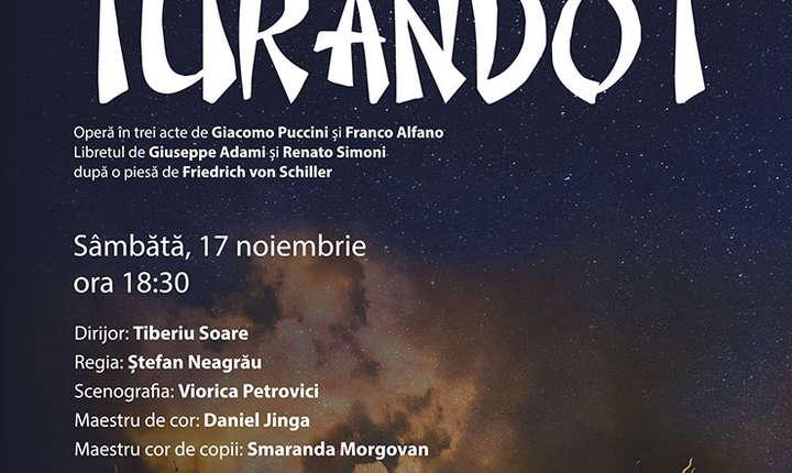 Fragment din afis - Turandot