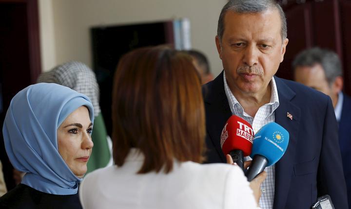 Preşedintele turc, Recep Tayyip Erdogan (Foto: Reuters/Murad Sezer)
