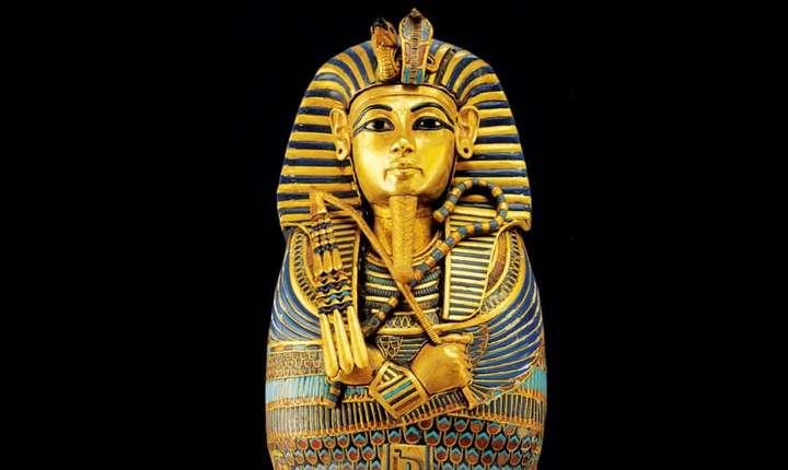 Unul din sicriele lui Tutankhamon