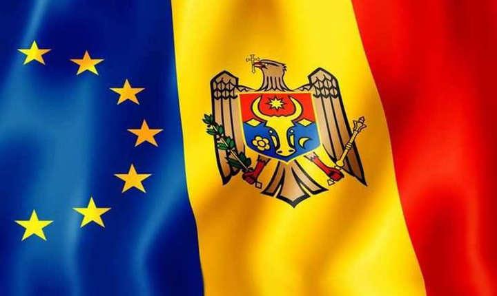 Steagurile UE si R.Moldova