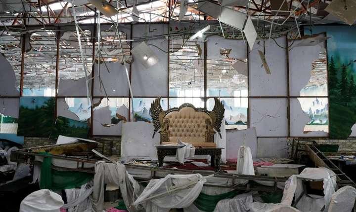 Un atentat kamikaze produs în timpul unei nunti, la Kaboul, s-a soldat cu 63 de morti si 182 de raniti, 17 august 2019.