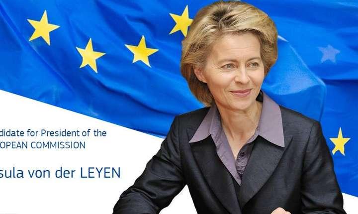 Parlamentul European voteaza astazi daca germanca Ursula von der Leyen va fi noul presedinte al Comisiei Europene