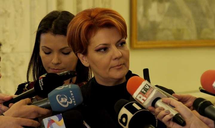 Olguţa Vasilescu, apreciată de colegul ei de partid, Valeriu Steriu (Sursa foto: site PSD)