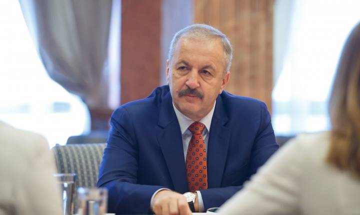 Vicepremierul Vasile Dîncu (Sursa foto: www.mdrap.ro)