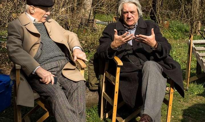 "Victor Rebengiuc și Marcel Iureș, platourile de filmare ""Octav"""