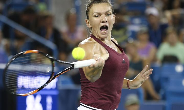 Simona Halep, la turneul de la Cincinnati (Foto: Aaron Doster-USA TODAY Sports via Reuters)