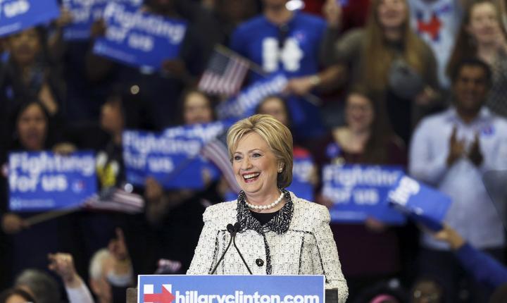 Hillary Clinton, triumfătoare în Carolina de Sud (Foto: Reuters/Randall Hill)