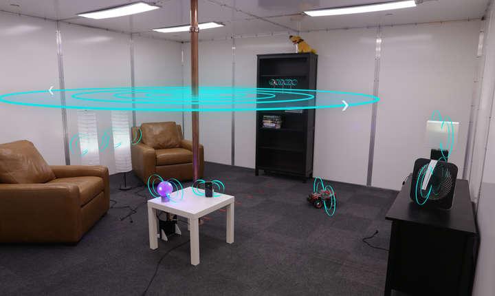 Camera care încarcă dispozitivele electronice, fără cablu (Sursa foto: site Disney Research)