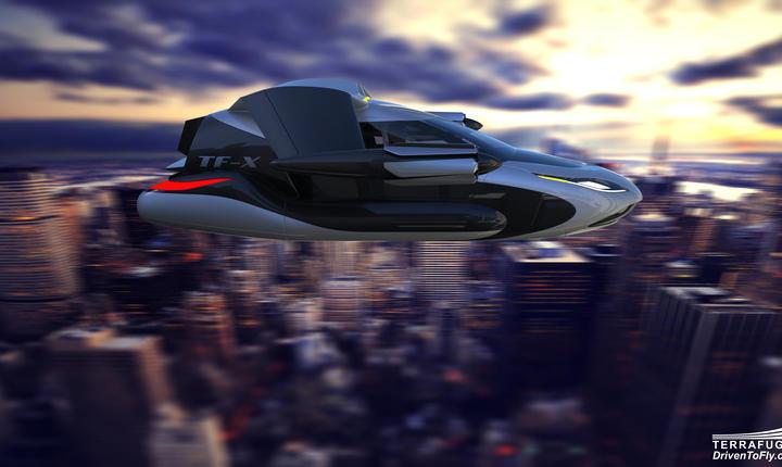 Maşina zburătoare TF-X (Foto: www.terrafugia.com)