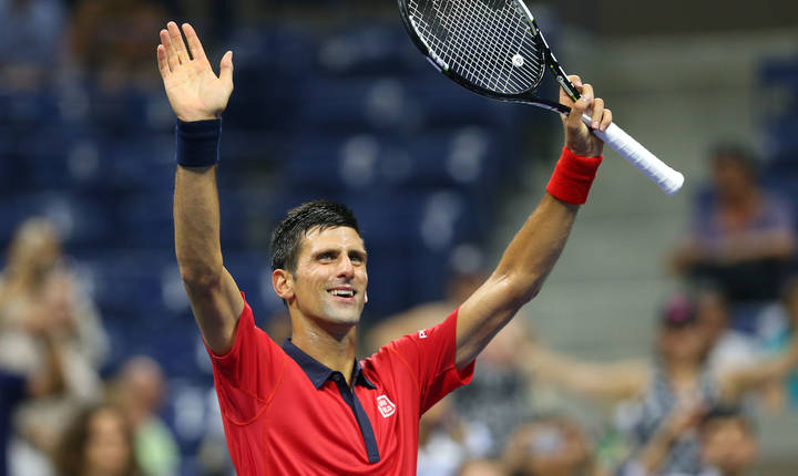 Novak Djokovici, la US Open (Foto: Jerry Lai-USA TODAY Sports via Reuters)