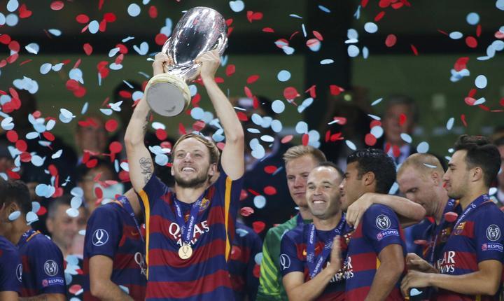 FC Barcelona a câştigat Supercupa Europei (Foto: Reuters/David Mdzinarishvili)