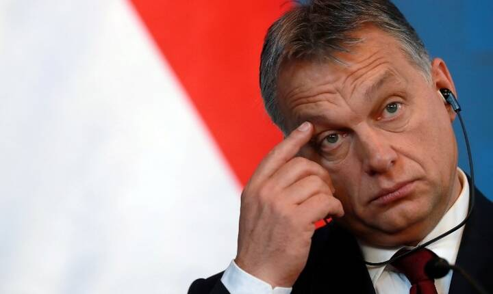 Premierul Ungariei, Viktor Orban (Foto: AFP/Ferenc Isza)