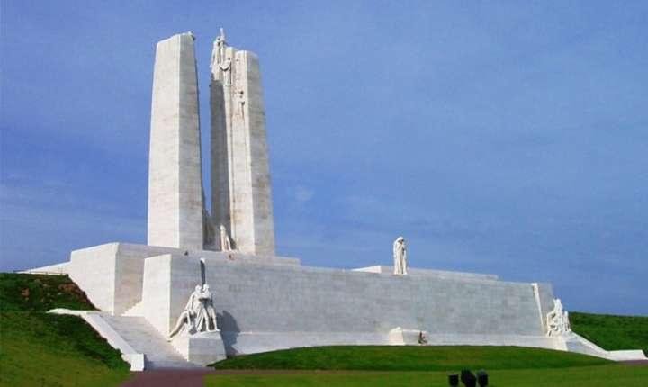 Memorialul canadian de la Vimy