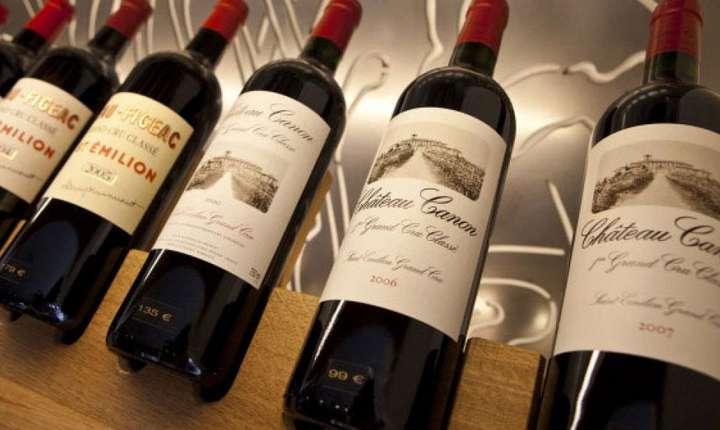 O serie de vinuri frantuzesti