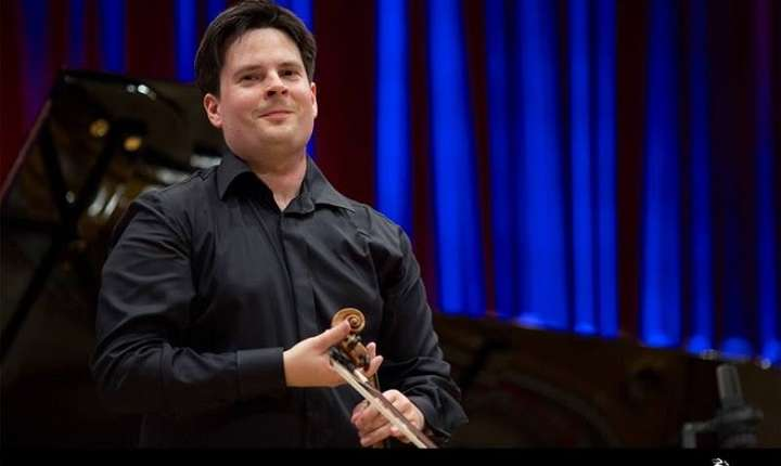 Violonistul Ștefan Tarara - Festivalul Enescu 2016