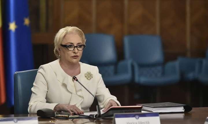 Premierul Viorica Dăncilă spune că nu a discutat cu ministrul Justiţiei despre un proiect privind graţierea şi amnistia (Sursa foto: gov.ro)