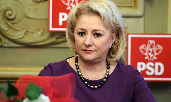Viorica Dăncilă, propusă de PSD pentru şefia Guvernului (Sursa foto: site PSD)