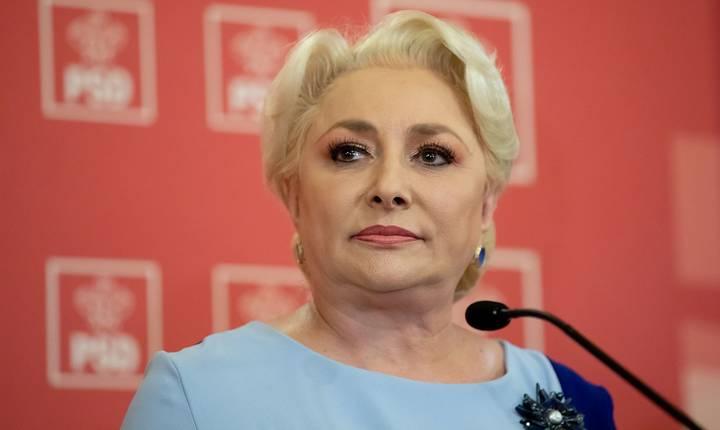 Viorica Dăncilă candidează la șefia PSD (Sursa foto: site PSD)