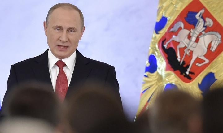 Preşedintele rus, Vladimir Putin (Foto: AFP/Natalia Kolesnikova)