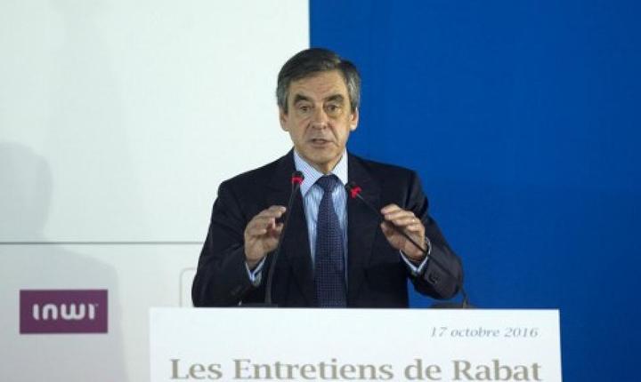 François Fillon, ex-premier al Frantei si candidat la candidatura dreptei si a centrului pentru prezidentialele de anul viitor, la Rabat, în Maroc, pe 17 octombrie 2016