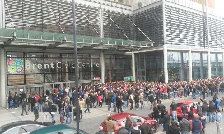Secția de votare Brent, Londra, în noiembrie 2014