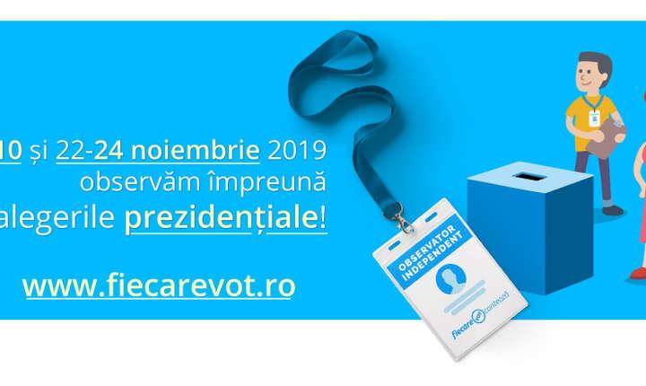Start la înscrierea observatorilor pentru alegerile prezidențiale din noiembrie (Sursa foto: expertforum.ro)