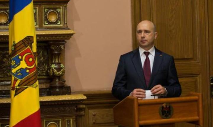 Pavel Filip, noul premier al Republicii Moldova (Foto: www.gov.md)