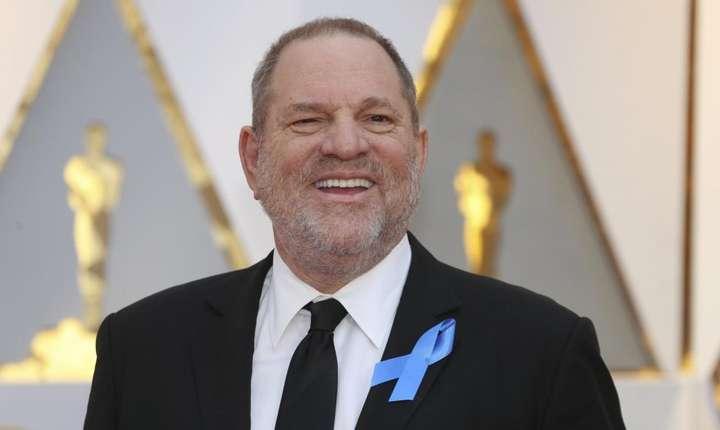Celebrul producàtor de cinema Harvey Weinstein, la Hollywood, cu ocazia decernàrii premiilor Oscar 2017