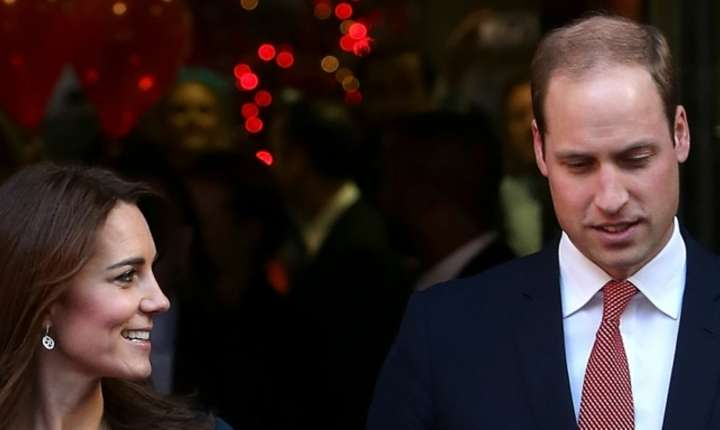 Printesa Kate si Printul William