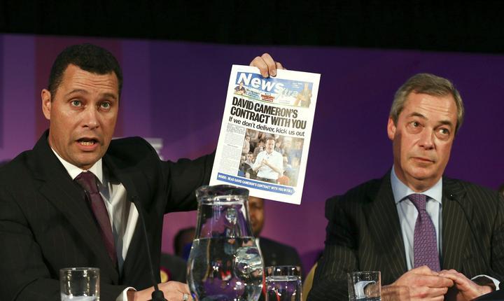 Steven Woolfe și Nigel Farage