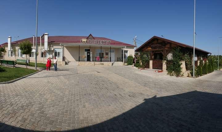 Supermarket si restaurant cu terasa in Avdarma